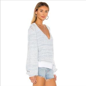 NWT FREE PEOPLE / RIP TIDE V NECK SWEATER